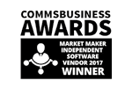 CommBusiness Awards Software Vendor Winner