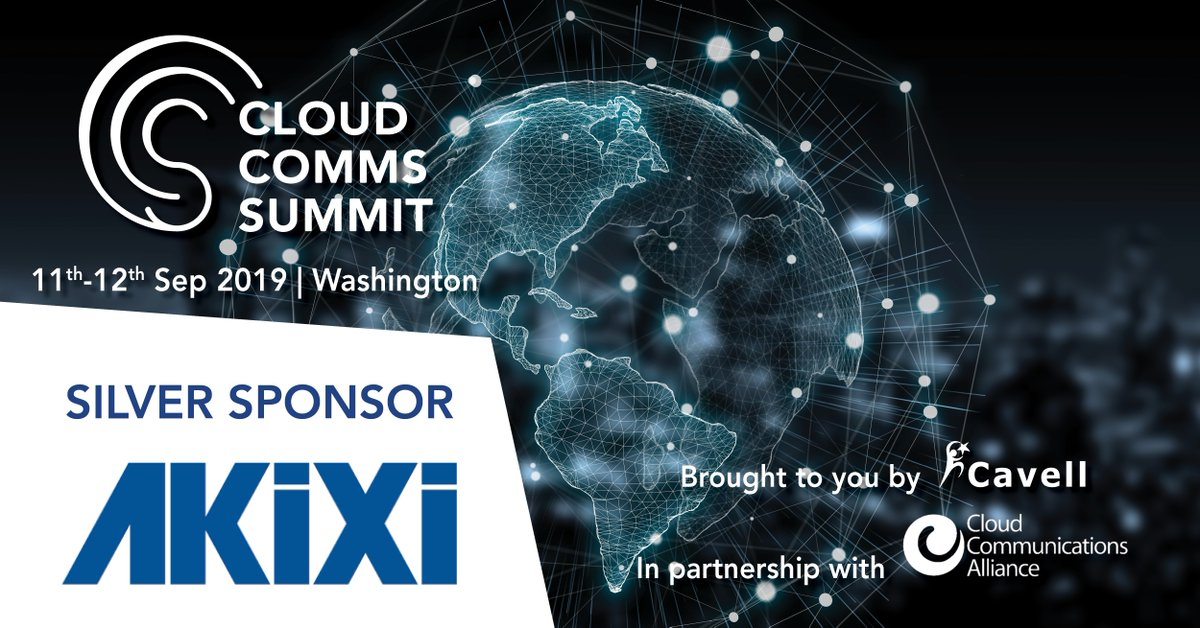 Akixi Cloud Comms Summit Silver Sponsor