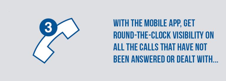 Unreturned Lost Calls App Card