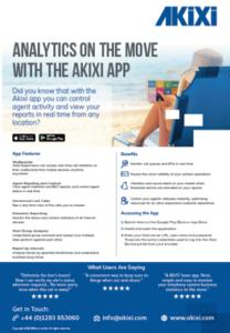 Akixi Mobile App Flyer