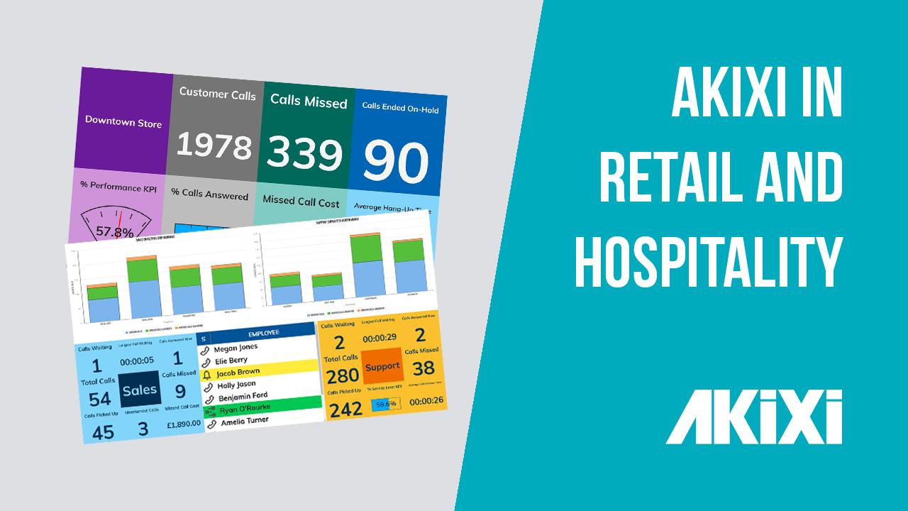 Akixi In Retail & Hospitality