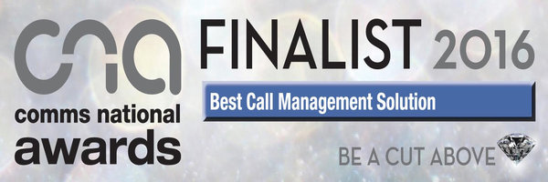 Comms National Awards Finalist 2016
